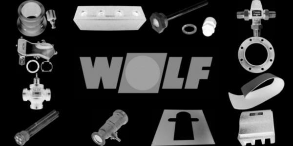 WOLF 8907153 Verkleidung oben links, Weiß