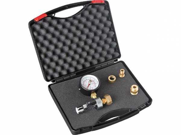 Kombiniertes Stau- und Fließdruckmess- gerät mit Schleppzeiger im Set