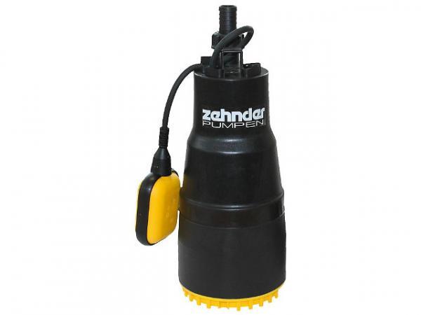 ZEHNDER Tauchdruckpumpe 1'' TDP 800 800 Watt, Fördermenge 6,0mn/h Korngröße max: 3mm