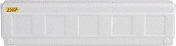 Regelverteiler für Thermischestellantriebe 6 HK, mit Trafo für 24V Geräte