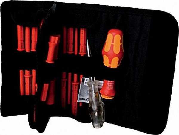 Wera' VDE-Wechselklingen Schraubendreher-Sat 18-tlg. inklusive Falttasche