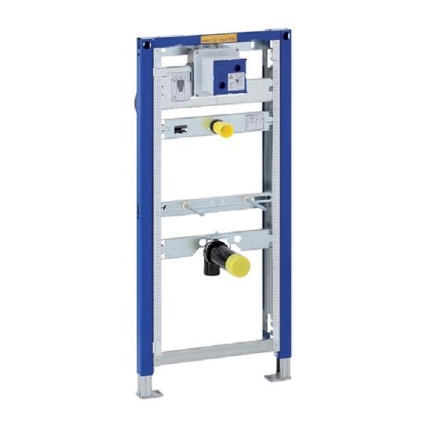 GEBERIT 111616001 DUOFIX Montageelement für Urinal Universal, Bauhöhe 112 - 130 cm