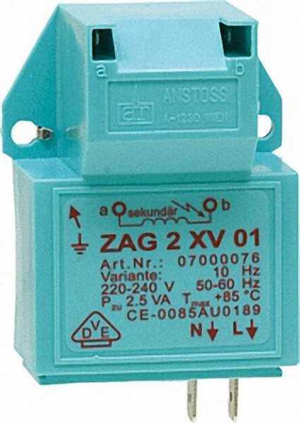 VIESSMANN Zündgerät ZAG 2XV 01/10 230V Referenz-Nr.: 7822555