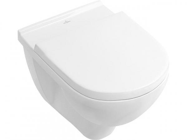 Combi-Pack V&B O.Novo Wand-Tiefspül-WC spülrandlos + WC-Sitz softclose,weiß