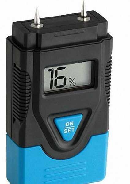 Holz- und Materialfeuchtgerät HUMIDCheck Mini Inkl. 4 Knopfzellen (LR44)