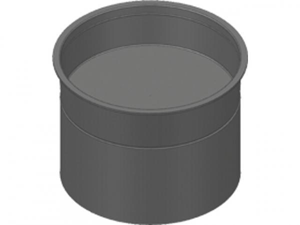 VIESSMANN ZK01878 Verschlussdeckel für Rundkanal Außendurchmesser 75 mm