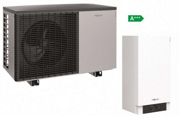 viessmann vitocal 200 s split w rmepumpe nur heizen. Black Bedroom Furniture Sets. Home Design Ideas