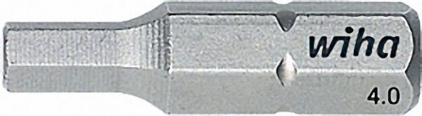 WIHA Standard-Bit, Sechskant, Form C 6, 3. Typ 7013 Z 10,0x 25