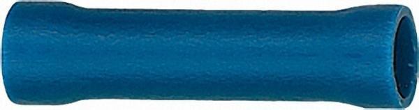 Stoßverbinder isoliert Farbe blau, 2,5mm² VPE = 100 Stück