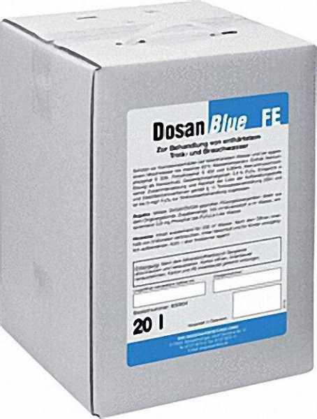 BWG Wasserchemie Dosan F/E 20 kg für agressive Mischwässer