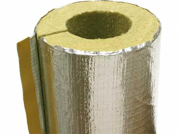 Rauchrohrisolierung - Alu 180 mm, Typ 180/50, 1 m