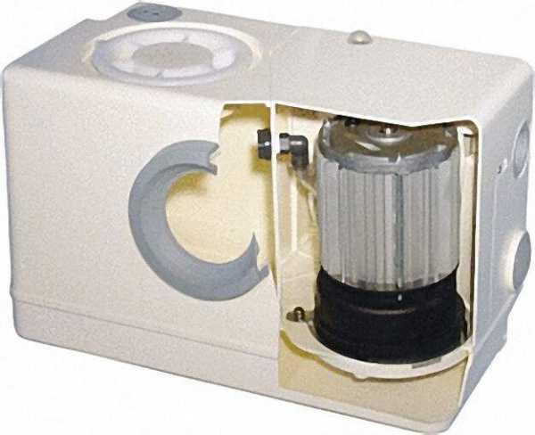 ZEHNDER Fäkalien-Hebeanlage Typ Microboy mit Schneidwerkpumpe