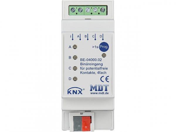 Reiheneinbaugerät MDT 4-fach Binäreingang Potenzialfrei