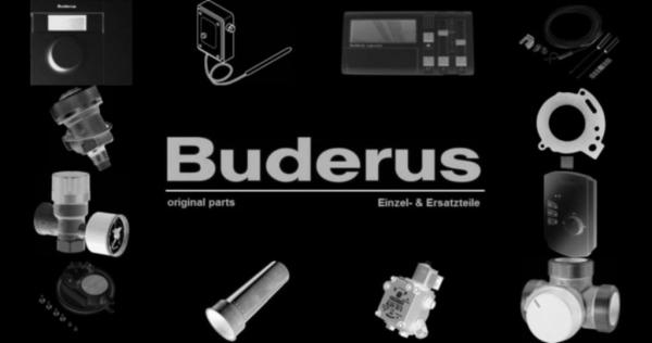 Buderus 5176878 Zündgasleitung DA4 BM762 8Gld li