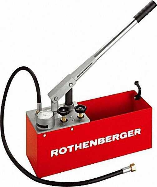 ROTHENBERGER Prüfpumpe RP 50 S