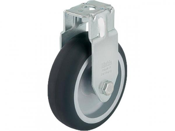 BLICKLE Bockrolle BRA-TPA 75G Tragfähigkeit 75 kg Rad D= 75mm, Rückenloch 11mm