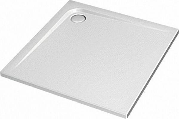 Rechteck-Brausewanne ULiter Flat, 1200 x 1200 x 47mm weiß