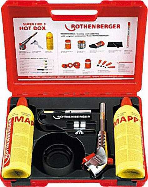 Hot Box Hartlötgerät bis 28mm