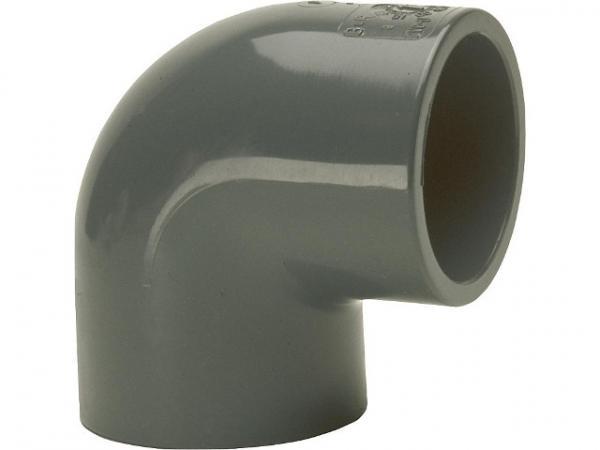 "5 x PVC 90° Winkel IG 1 1//2/"" PN10 Klebefitting Bogen Fittings Reduzierung Rohr"