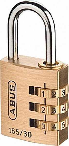 ABUS -Kombinations-Zahlenschloss Ausführung 165/30 mit EAN