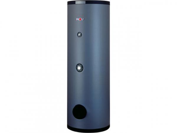 Wolf Warmwasser-Solarspeicher SEM-1-1000 mit 2 Glattrohr-Wärmetauschern