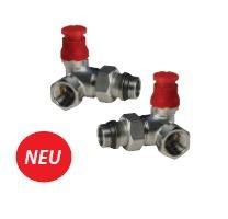 R403PX234 voreinstellbares Thermostatventil Eckform AG 1/2