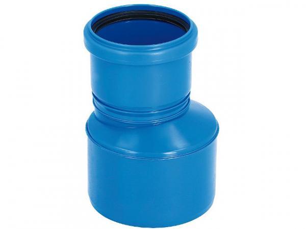 CondensBlue Reduzierung exzentrisch, einwandig DN 125 x DN 110