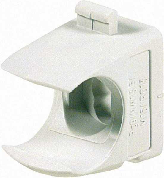 Rohr-Klemmschelle DN 16, grau halogenfrei / VPE 100 Stück