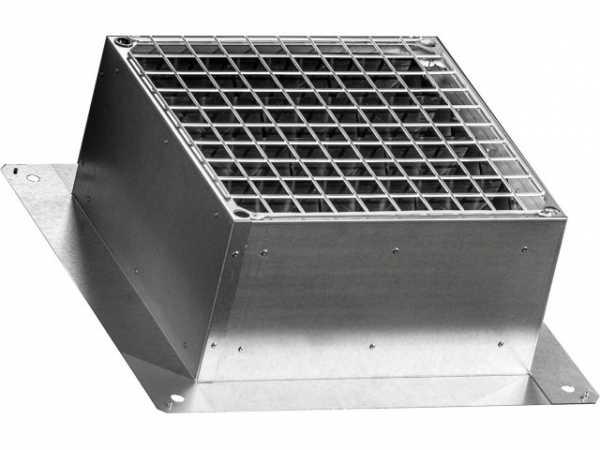 Wolf Verschlußklappe Dachsockel für DV-2-250/DV-2-315