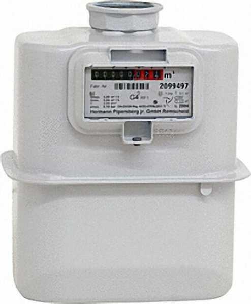 Gaszähler G 10 DN 40 Einstutzenausführung inklusive Eich- und Beglaubigungsgebühr