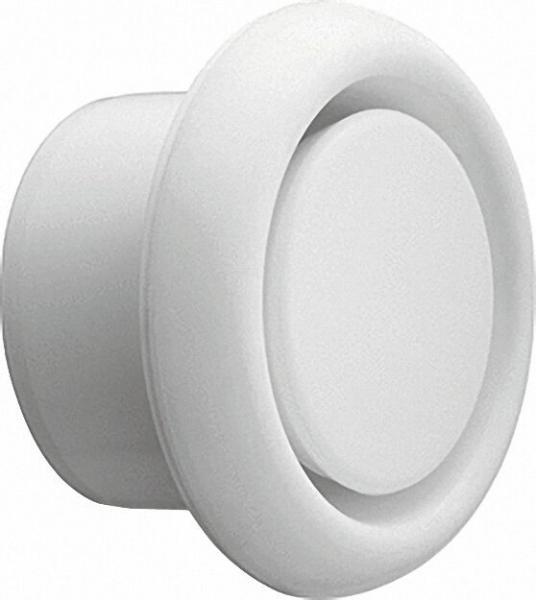 Abluftventil D=150mm Weiß