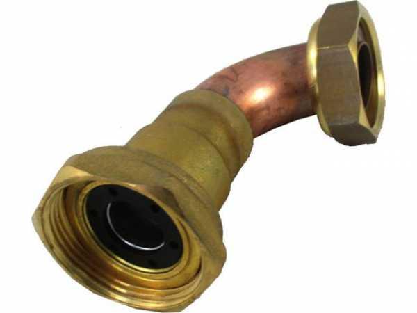 WOLF 2071306 Verrohrung Durchflusssensor -Pumpenabsperrung D28