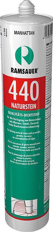 Natursteinsilikon 440 manhattan, neutrale Silicondichtmasse,