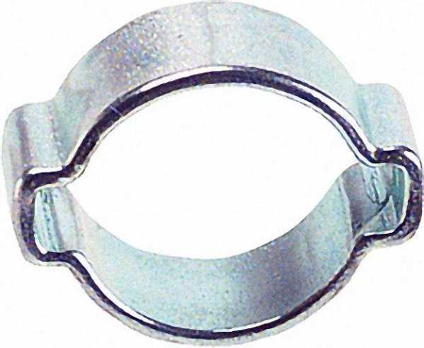 2-Ohr-Schlauchklemmen W1 15 - 18mm