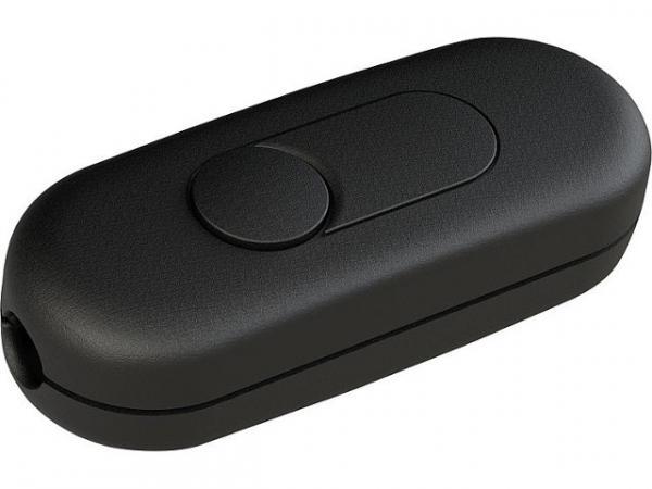 LED-Schnur-Tastdimmer 7-100 W/VA, LED 3-35W schwarz