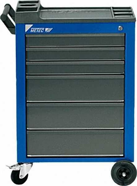 Werkstattwagen Farbe: blau HxBxT 930x630x410mm mit 6 Schubladen (M)