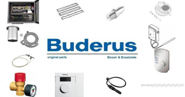 Buderus 87090022 Grundbausatz Abgaskaskade für 2-Kessel DN125