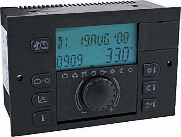Digitale Regelung THETA+ N 2233 BVVC-OT mit Kabelsatz passend für Intercal