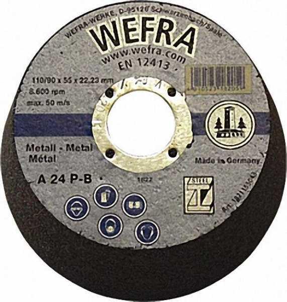Schruppscheibe Euromaster für Metall 178 x 8 x 22mm