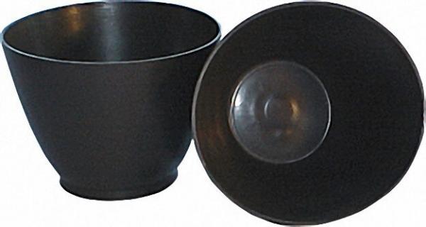 Gipsanrührbecher konisch Gummi flexibel