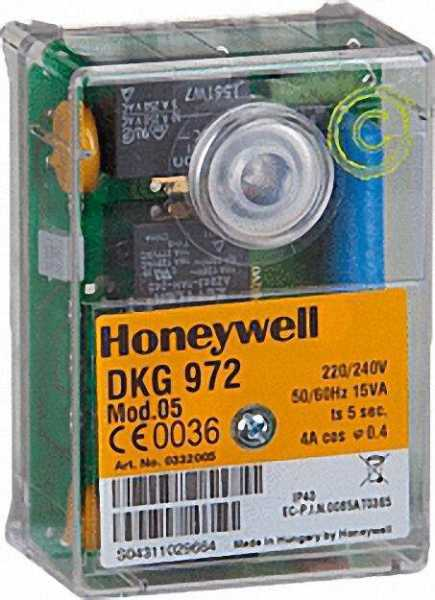 HONEYWELL Relais Satronic DKG 972 Mod. 10