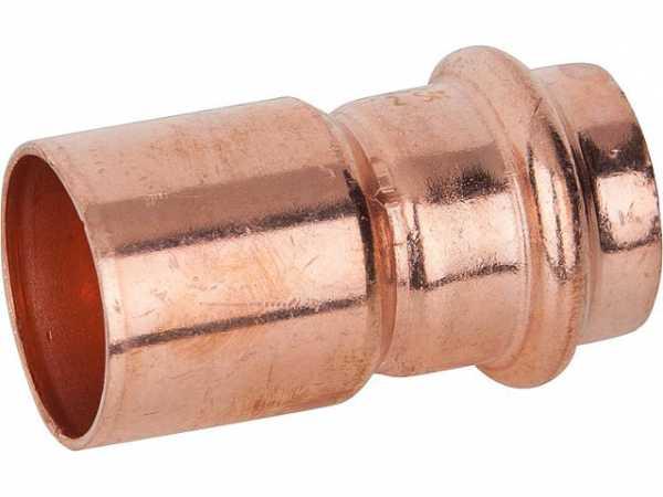 VIEGA Profipress Reduzierstück Modell 2415.1 mit SC-Contur d1-28 d2-22