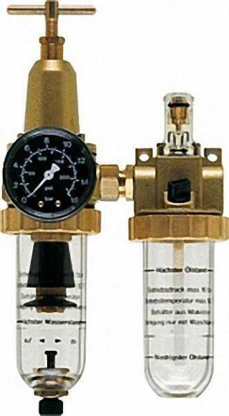 Druckluft-Wartungseinheit Anschluss G1/2 Durchfluss 1. 830 l/min
