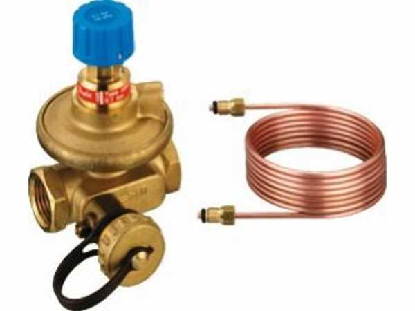 "Buderus Strangdifferenzdruckregler ASV-P, PN 16, DN 32, RP 1 1/4"", 100 bis 2000l/h, 89192820"
